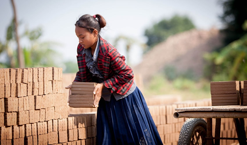 Back Breaking Child Labour: Srey's Story | World Vision Canada